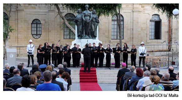 Otto Settembre - Concert with Malta Armed Forces
